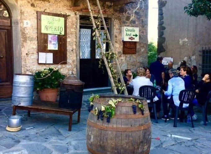 la seconda festa dell'uva fragola di Montefegatesi