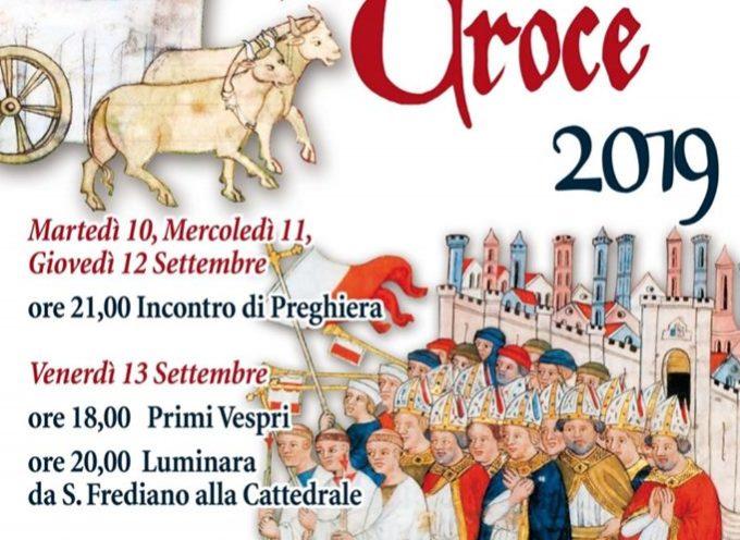 Si apre la settimana della Santa Croce 2019 in Cattedrale
