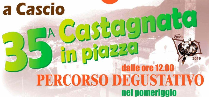 CASCIO  – LA  CASTAGNATA IN PIAZZA