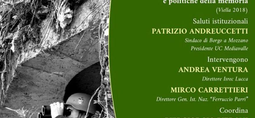 La Linea Gotica in un libro presentato a Borgo a Mozzano