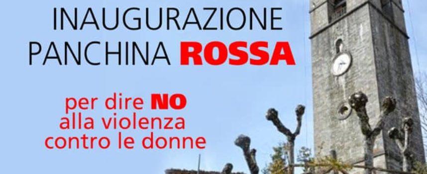 a Chiozza sarà inaugurata una panchina rossa.