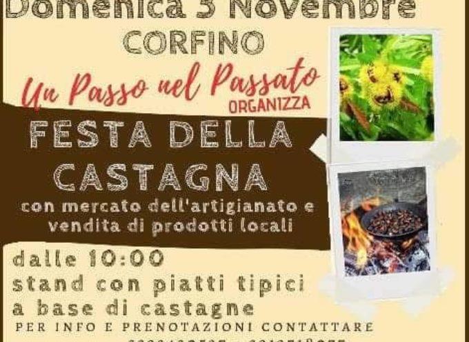 CORFINO DOMENICA 3 NOVEMBRE  LA FESTA DELLA CASTAGNA