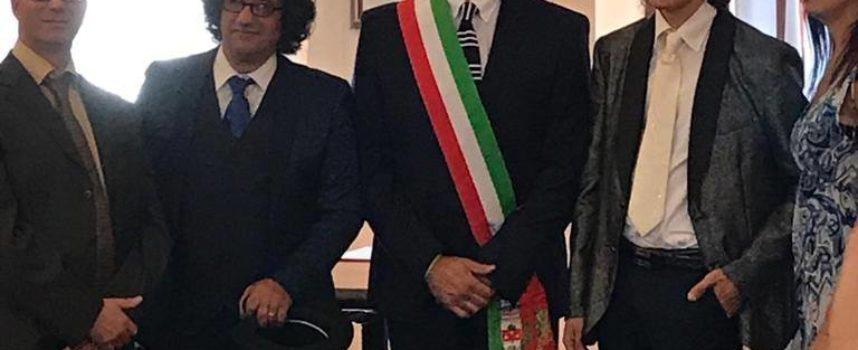 la prima Unione Civile della storia di Porcari.