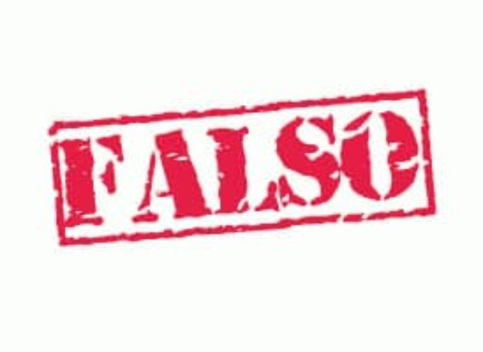 Oggi l'ennesima falsità scritta dal quotidiano il Tirreno nei confronti del sindaco.