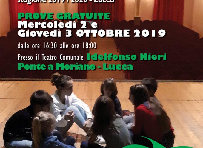 Porte aperte e prove gratuite per i corsi di teatro adulti e bambini