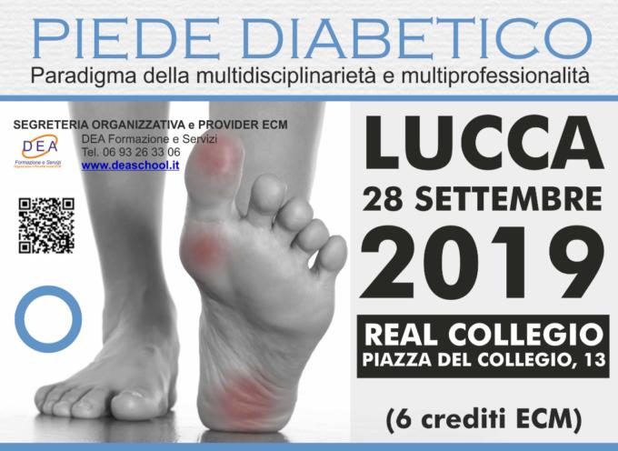 Piede diabetico: a Lucca convegno regionale per favorire l'integrazione tra professionisti