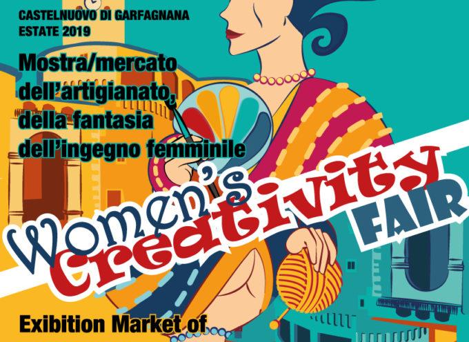 """L'associazione culturale Progetto Donna di Castelnuovo di Garfagnana, PROPONE """"LA FIERA DELLA CREATIVITA' FEMMINILE"""""""