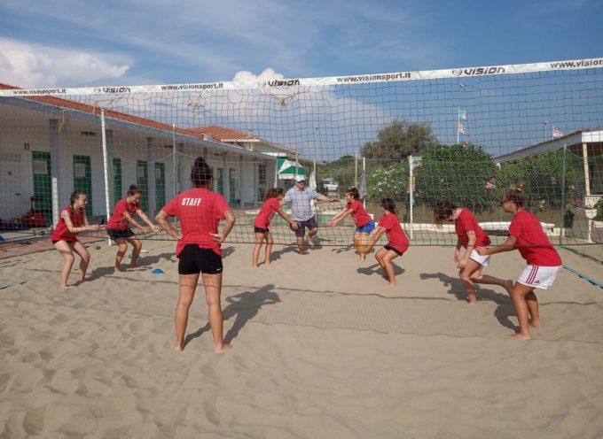 per la Polisportiva Volley Capannori dopo i corsi fisici ecco la preparazione tecnica