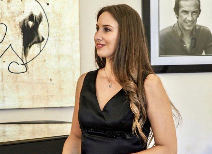 Il soprano Francesca Maionchi incanta i croceristi della Norwegian Cruise Line in visita a Villa Bertelli