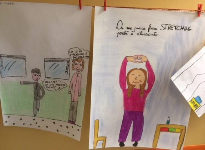 """Migliaia di bambini coinvolti nei progetti """"Stretching in classe"""" e """"Slurp"""" che promuovono l'attività fisica per i più piccoli a Lucca"""