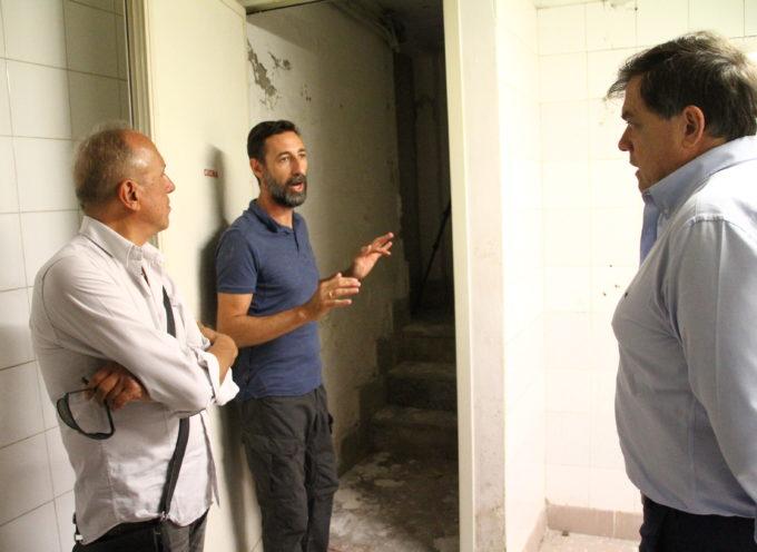 Pietrasanta – Iniziati i rilievi strutturali per i lavori di realizzazione del Museo Mitoraj