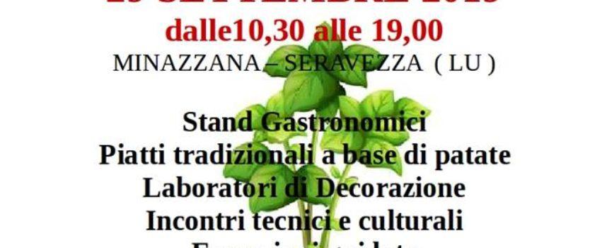 Prima Festa della Patata a Minazzana – Organizza Slow Food in collaborazione con la Pubblica Assistenza