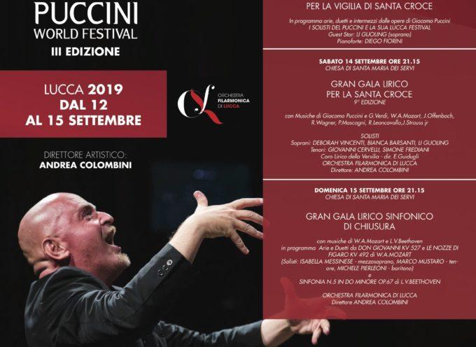 Torna il Puccini World Festival: quattro grandi concerti per l'edizione 2019
