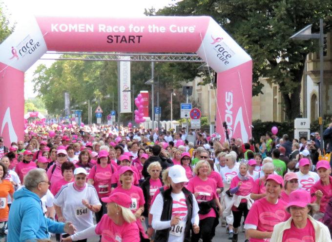Una corsa in rosa per la lotta ai tumori