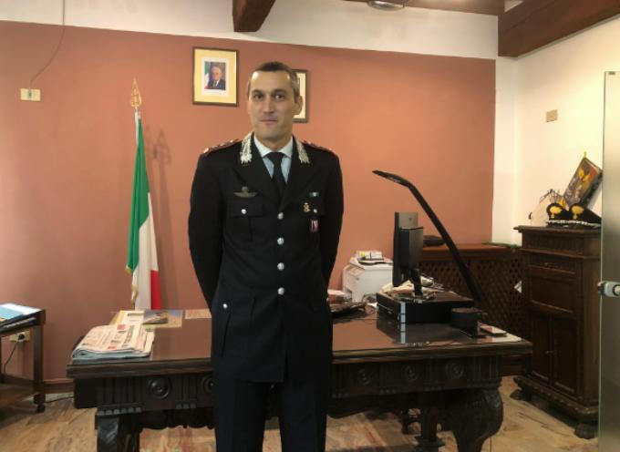Il tenente colonnello Ugo Blasi è il nuovo comandante provinciale dei carabinieri