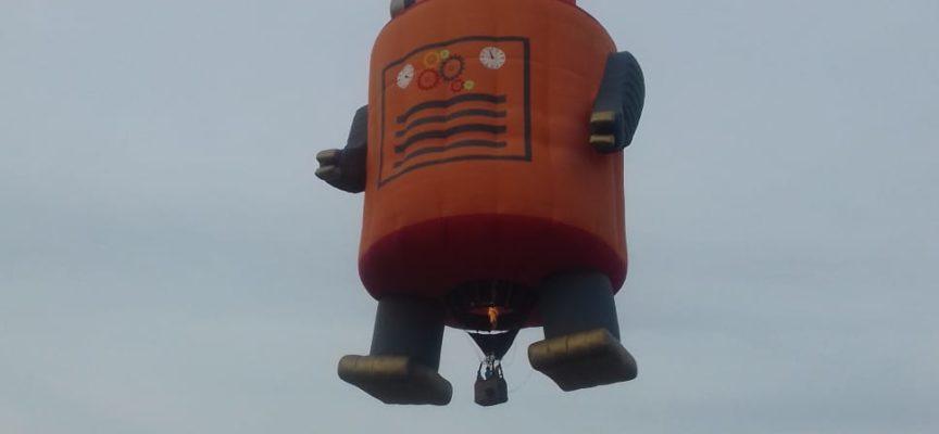 Festa dell'aria, un weekend all'insegna delle mongolfiere