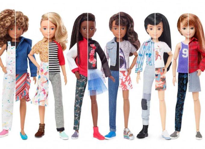 Mattel lancia le bambole senza genere per far giocare tutti i bambini senza etichette
