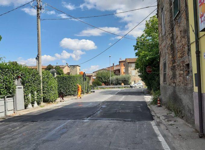Manutenzioni stradali, ripristinato un tratto di via di Carraia