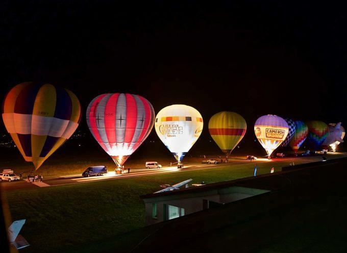 Balloon glow e concerti: quattro spettacoli serali alla Festa dell'Aria