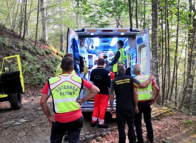 IL SAST INTERVIENE – nella zona del Rifugio del Montanaro nel comune di San Marcello Pistoiese per un runner infortunato