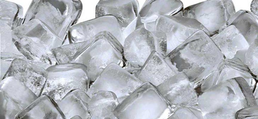Richiamato ghiaccio a cubetti per cocktails Polo Nord Ice Cubes per conta batterica Escherichia Coli fuori dai limiti