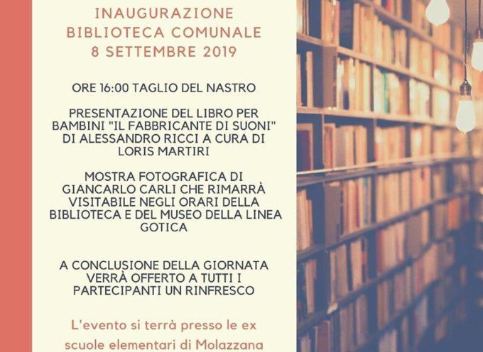 Inaugurazione Biblioteca Comunale Ex Scuole Elementari – Molazzana