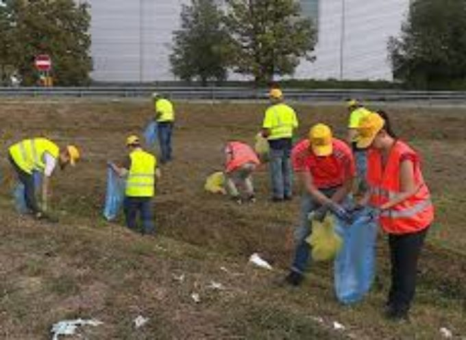 "Tanti volontari per il ""World cleanup day"""