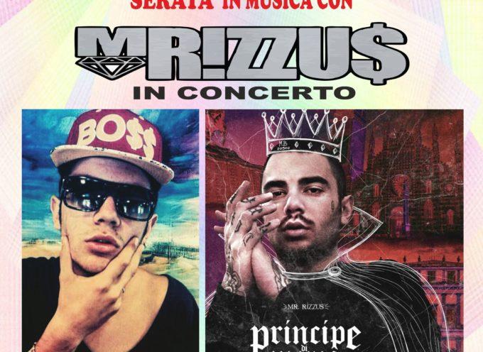 al Foro Boario di Monte S. Quirico concerto rap con MRizzus