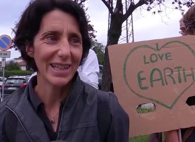 Corteo e manifestazione anche a Fornaci di Barga per l'emergenza climatica