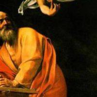 il santo del giorno 21 settembre San Matteo