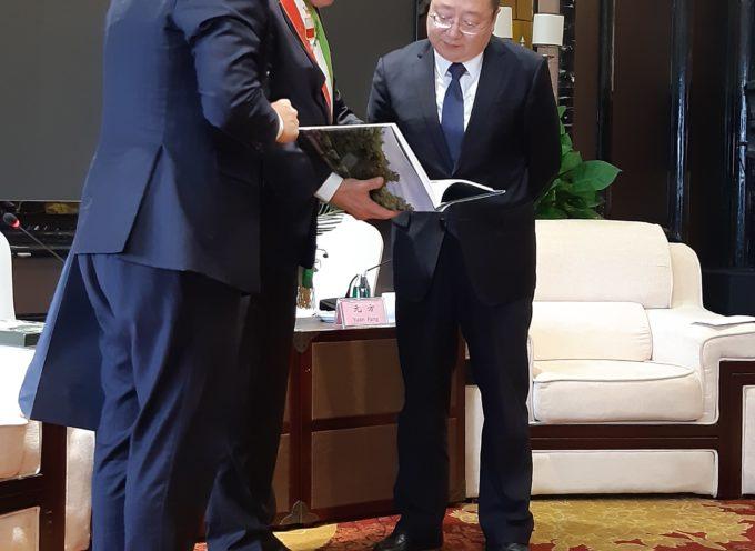 Lucca firma un Memorandum d'Intesa con la città di Mianyang per incrementare i rapporti su cultura, imprese, ambiente e tecnologia