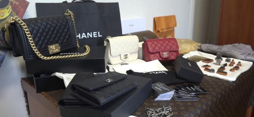 Duro colpo al mercato del falso di lusso: sequestrato mezzo milione di pezzi