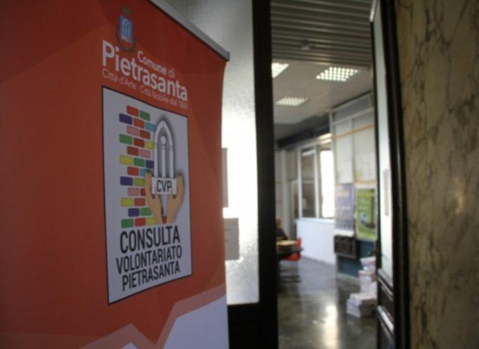 PIETRASANTA – Sociale: aperto lo sportello della Consulta del Volontariato,