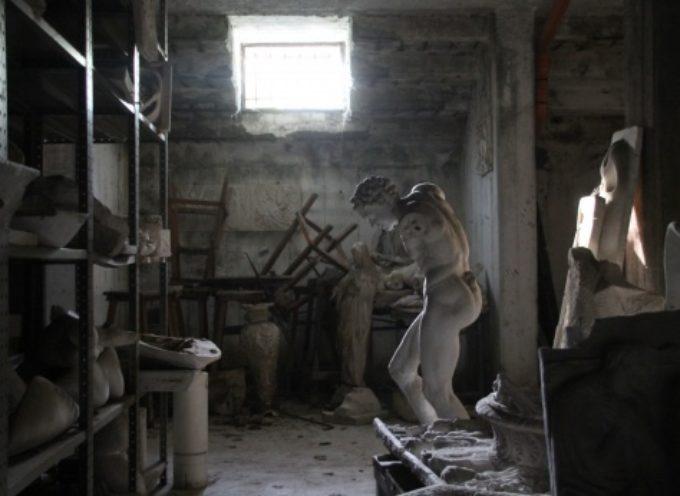 PIETRASANTA – migliaia di opere negli scantinati dell'Istituto Stagio Stagi