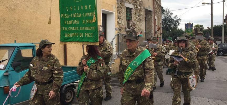 """Associazioni: il Gruppo Alpini e la Fanfara """"Giorgio Giannaccini"""" in festa domenica a Pozzi"""