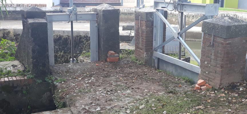 Marlia ha due nuove cateratte: Costruite e installate dal Consorzio Bonifica sull'Arnolfini