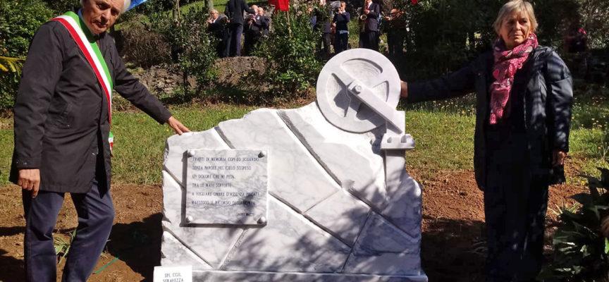 inaugurato a Seravezza il Monumento ai Caduti sul Lavoro