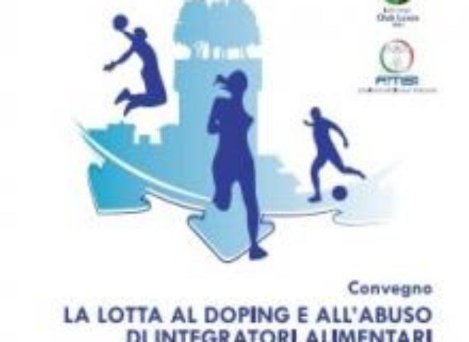 """Capannori: """"focus"""" sulla lotta al doping e sull'abuso di integratori alimentari nello sport"""