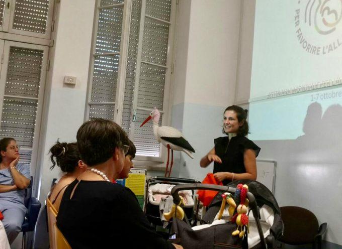 Allattare è un 'affare di famiglia' – Lucca festeggia la settimana mondiale dell'allattamento in Consultorio