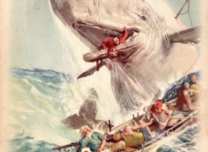 """18 ottobre 1851, dalle stamperie dell'editore britannico Richard Bentley esce la prima versione, in tre volumi, del romanzo """"Moby Dick"""""""