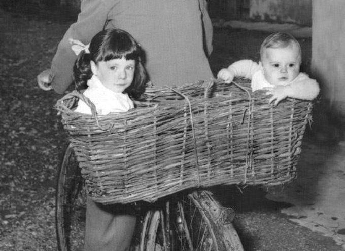 Domenica: si portano i bambini in visita dai nonni…