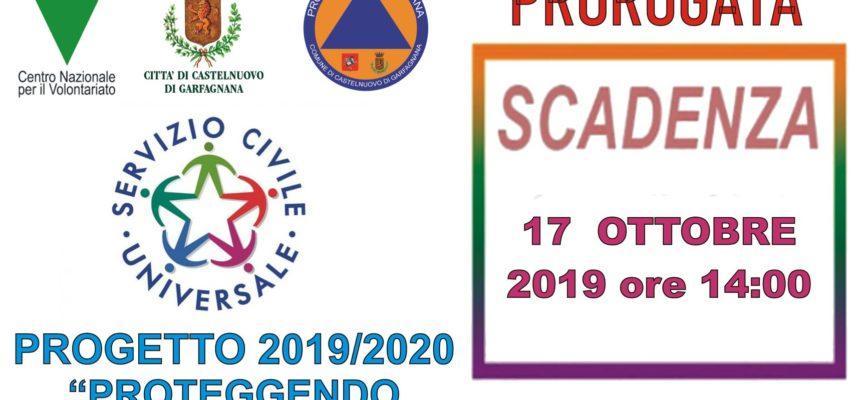 Il Dipartimento ha prorogato di sette giorni i termini per la presentazione delle candidature per i progetti di servizio civile universale
