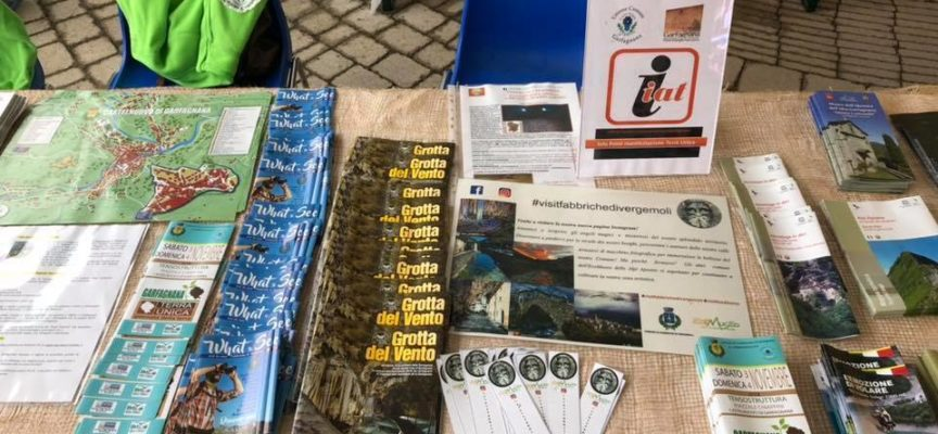 Anche nell'edizione 2019 di Garfagnana Terra Unica sarà presente un punto di informazione turistica