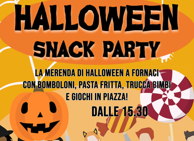 HALLOWEEN SNACK PARTY.. a Fornaci di Barga