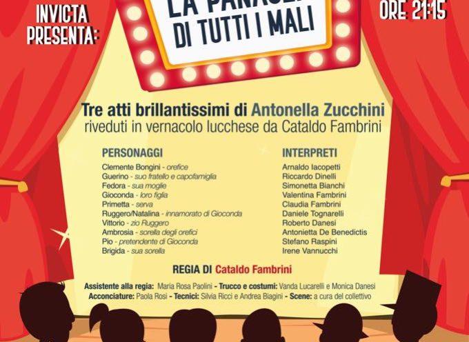 TEATRO DEL GIGLIO – la Compagnia teatrale Invicta presenta La Panacea di Tutti i Mali.