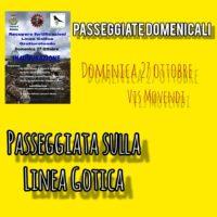 La Passeggiata sulla Linea Gotica, domenica 27 ottobre