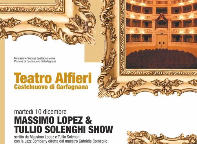 AL TEATRO ALFIERI – Martedì 10 Dicembre MASSIMO LOPEZ & TULLIO SOLENGHI SHOW