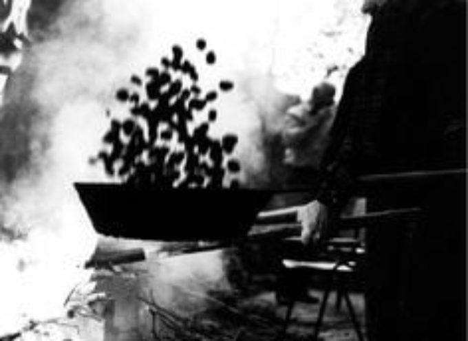 Il venditore di caldarroste.