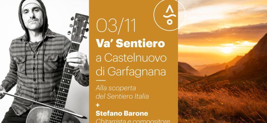 """la spedizione di """"Va' Sentiero"""", impegnata nella scoperta del Sentiero Italia (il più lungo al mondo!) approda a Castelnuovo di Garfagnana…"""