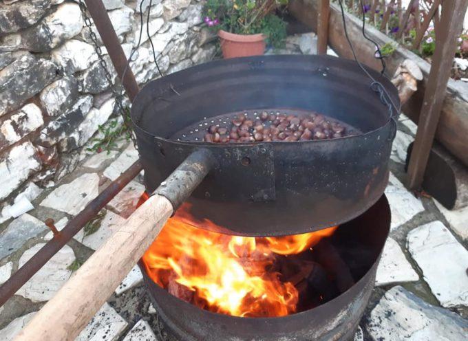 A Campocatino , VAGLI SOTTO, la prima GIORNATA della sagra delle castagne.